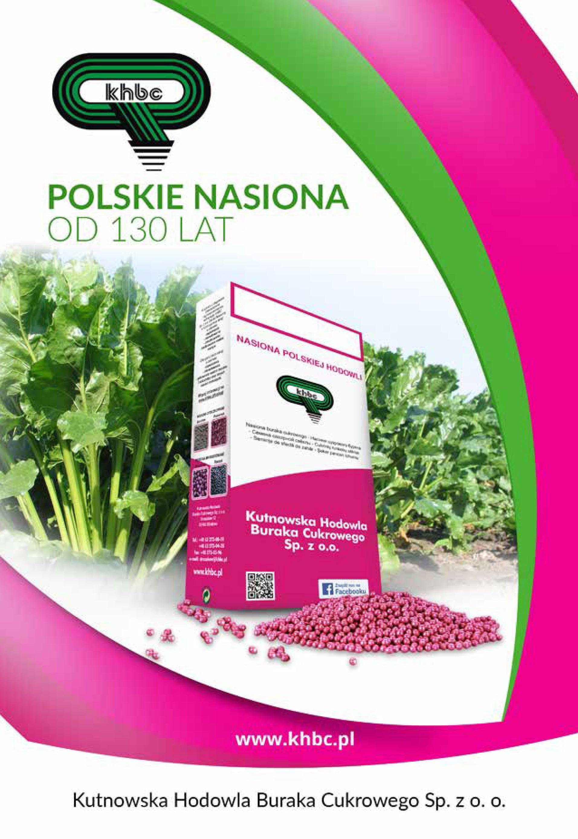 Polskie nasiona od130 lat